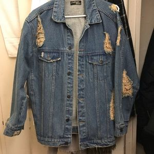 BDG Urban Outfitters Distressed Denim Jacket
